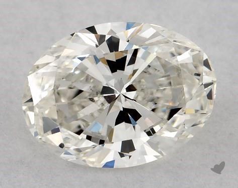 0.96 Carat H-VS2 Oval Cut Diamond