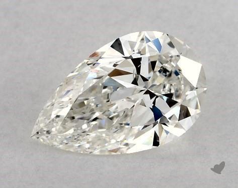 0.96 Carat H-VS2 Pear Shape Diamond