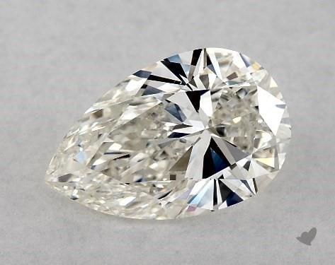 1.66 Carat H-VS2 Pear Shape Diamond