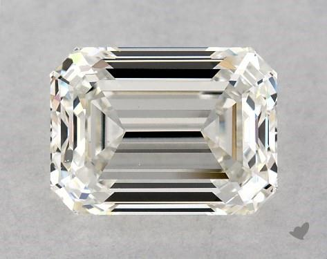 1.00 Carat H-VS2 Emerald Cut Diamond