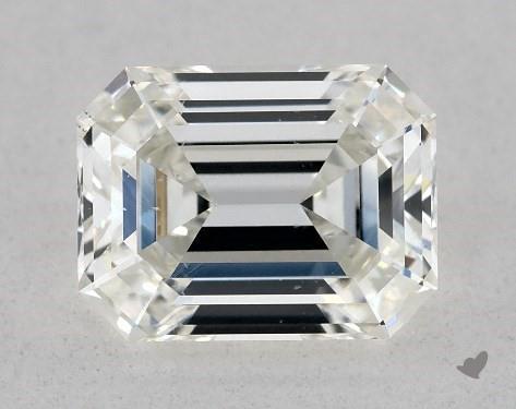0.92 Carat H-VS2 Emerald Cut Diamond