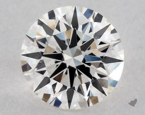 Lab-Created 1.15 Carat I-VS2 Ideal Cut Round Diamond