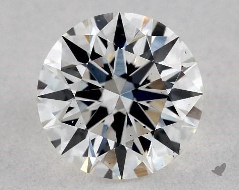 Lab-Created 1.13 Carat H-VS2 Excellent Cut Round Diamond