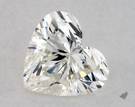 0.76 Carat H-VS2 Heart Shape Diamond