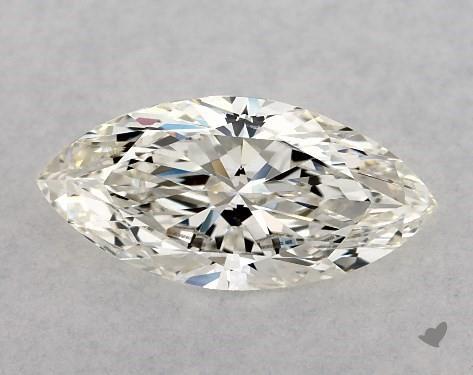 0.72 Carat H-VS2 Marquise Cut Diamond