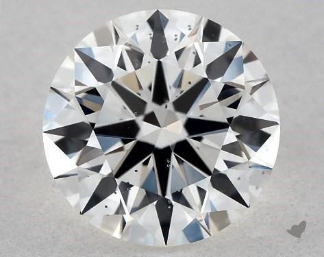 1.03 Carat H-SI1 True Hearts<sup>TM</sup> Ideal Diamond