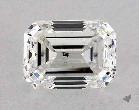 1.05 Carat H-SI1 Emerald Cut Diamond