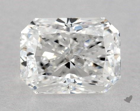 1.01 Carat E-SI1 Radiant Cut Diamond