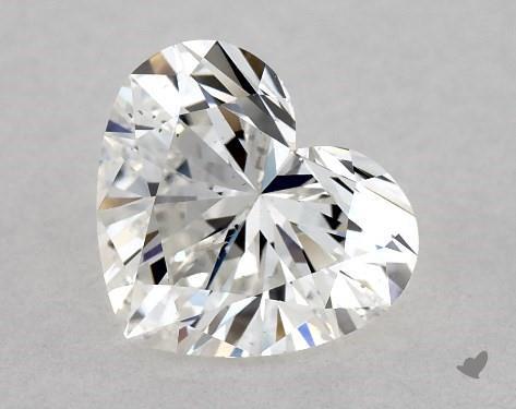 1.01 Carat G-SI1 Heart Shape Diamond