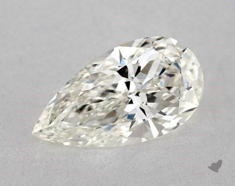 0.73 Carat H-VS2 Pear Shape Diamond
