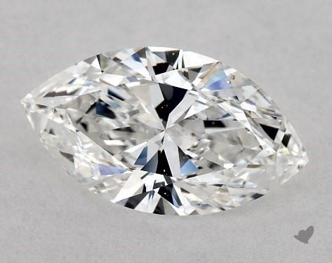 1.00 Carat D-SI1 Marquise Cut Diamond