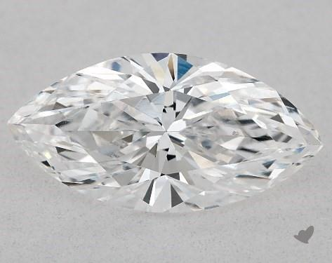 1.03 Carat D-SI1 Marquise Cut Diamond