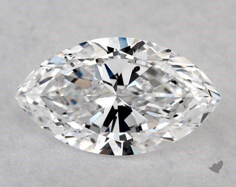 <b>0.50</b> Carat D-SI1 Marquise Cut Diamond
