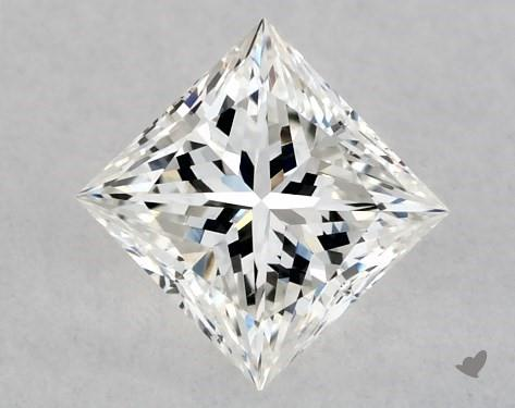 0.34 Carat G-VS2 Ideal Cut Princess Diamond