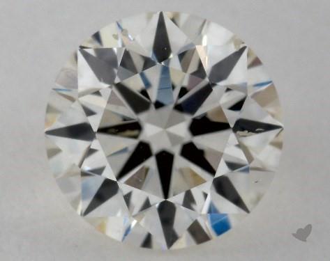 0.70 Carat J-SI1 Excellent Cut Round Diamond
