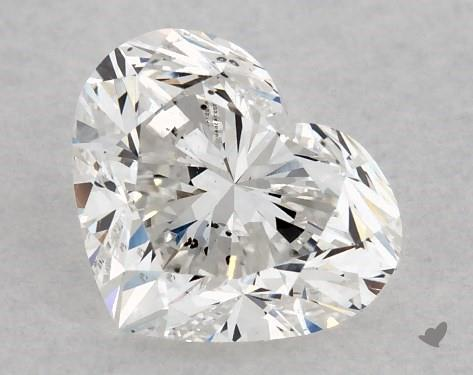 1.00 Carat E-SI1 Heart Shape Diamond