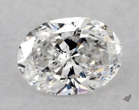<b>0.50</b> Carat E-SI2 Oval Cut Diamond