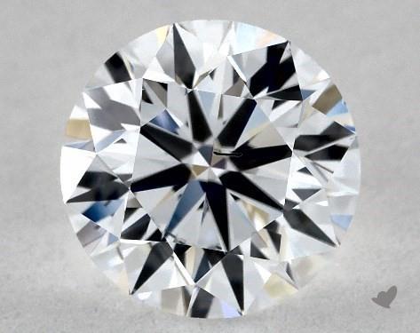 Lab-Created 1.10 Carat F-SI1 Ideal Cut Round Diamond