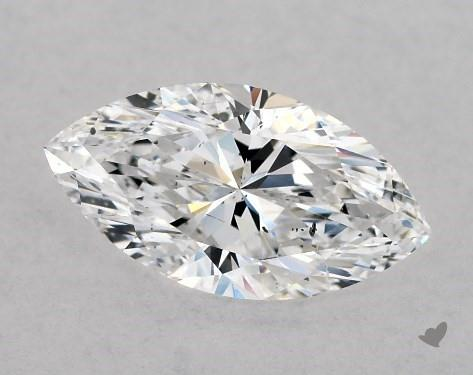 1.00 Carat D-SI1 Marquise Cut Diamond