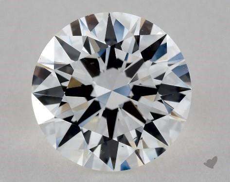 1.34 Carat F-VS2 Excellent Cut Round Diamond