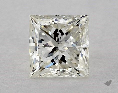 <b>0.51</b> Carat J-SI1 Princess Cut Diamond