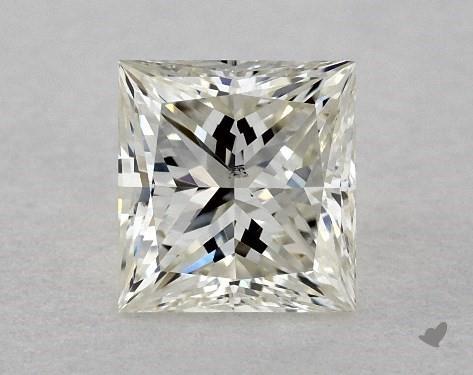 0.51 Carat J-SI1 Very Good Cut Princess Diamond