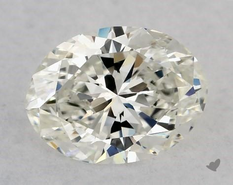 0.71 Carat H-VS2 Oval Cut Diamond