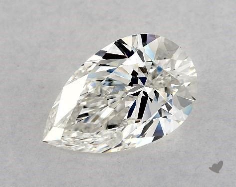 1.90 Carat H-VS2 Pear Shape Diamond