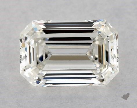 0.70 Carat H-VVS1 Emerald Cut Diamond