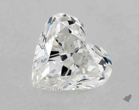 1.02 Carat G-SI1 Heart Shape Diamond