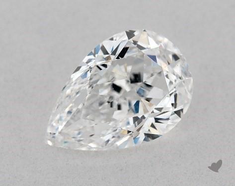 1.01 Carat E-VS2 Pear Shape Diamond