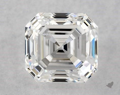 1.00 Carat E-VS1 Square Emerald Cut Diamond
