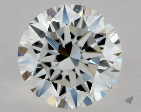 0.49 Carat I-IF Excellent Cut Round Diamond
