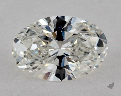 1.61 Carat H-VVS1 Oval Cut Diamond