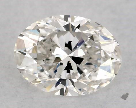 0.41 Carat G-VS2 Oval Cut Diamond