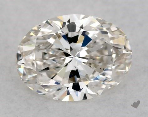 0.40 Carat G-VS2 Oval Cut Diamond