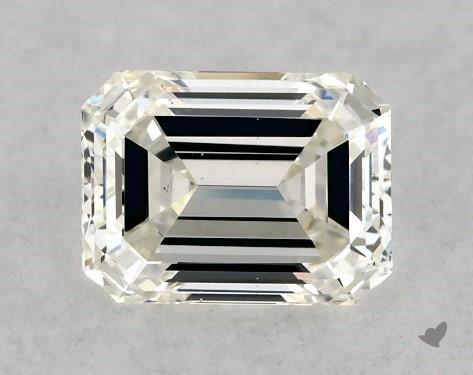 0.50 Carat J-VS2 Emerald Cut Diamond