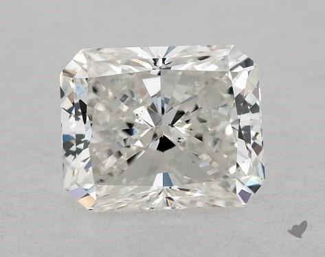 0.71 Carat I-SI1 Radiant Cut Diamond