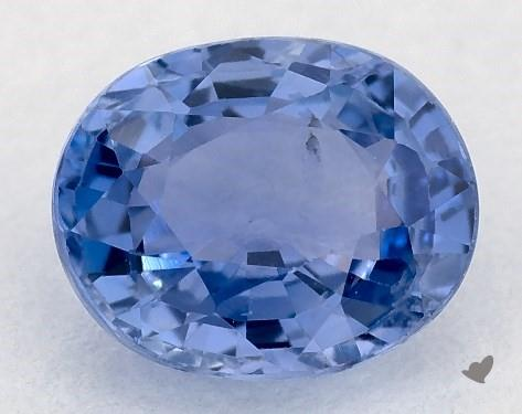 0.83 carat Oval Natural Blue Sapphire