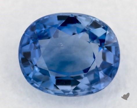 1.08 carat Oval Natural Blue Sapphire