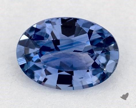 0.73 carat Oval Natural Blue Sapphire