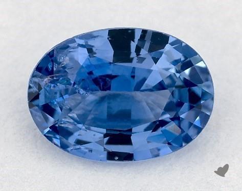0.78 carat Oval Natural Blue Sapphire