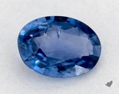 0.84 carat Oval Natural Blue Sapphire