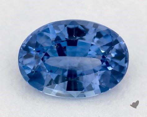 0.86 carat Oval Natural Blue Sapphire
