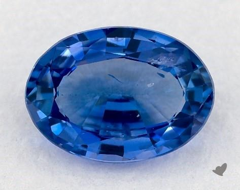 0.70 carat Oval Natural Blue Sapphire