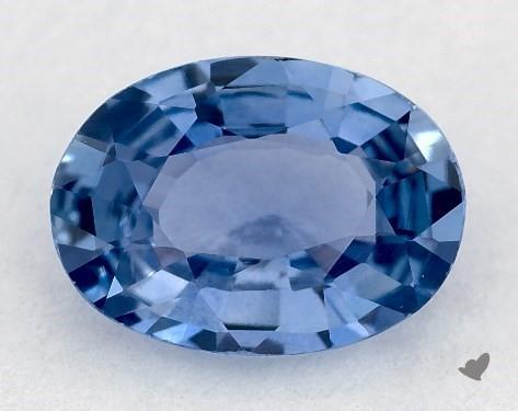 0.77 carat Oval Natural Blue Sapphire