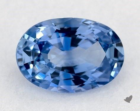 0.79 carat Oval Natural Blue Sapphire