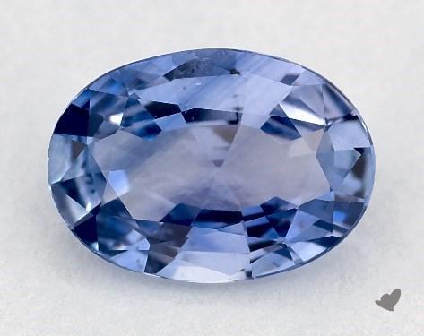 0.80 carat Oval Natural Blue Sapphire