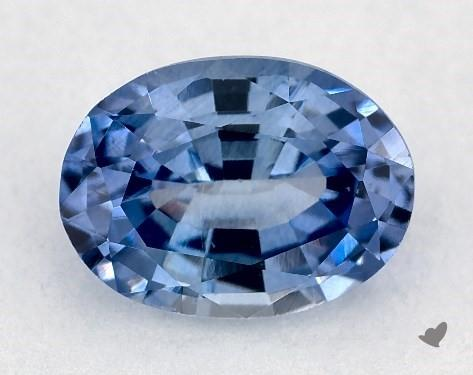 0.91 carat Oval Natural Blue Sapphire