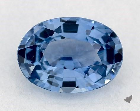 <b>0.93</b> carat Oval Natural Blue Sapphire